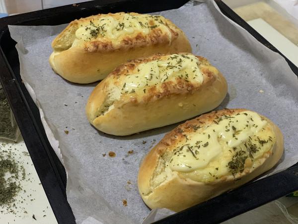 软式香草芝士面包的做法