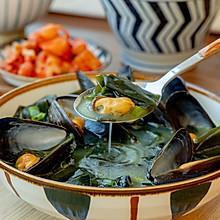 #秋天怎么吃#韩式海带汤|补铁补血