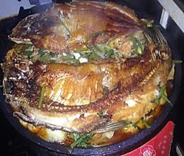 电饼铛烤鱼的做法
