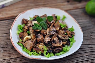 香草烤蘑菇