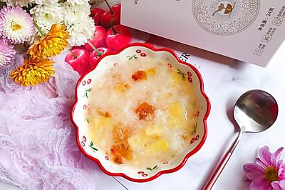 桃膠金燕耳蘋果甜湯~提高免疫力佳品