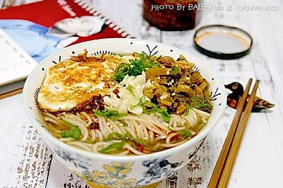 南京点击率最高的雪菜肉丝面
