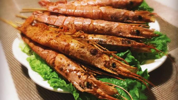 椒盐阿根廷红虾