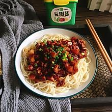 香菇肉酱面#助力高考营养餐#