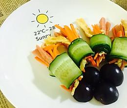 营养蔬菜卷的做法