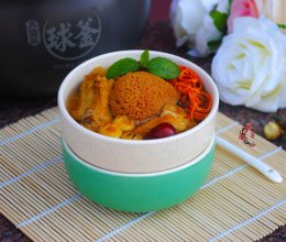 猴菇虫草排骨汤#苏泊尔电饭锅#的做法