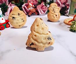 #令人羡慕的圣诞大餐#蔓越莓圣诞小饼干的做法