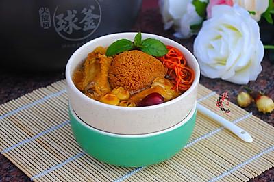猴菇虫草排骨汤#苏泊尔电饭锅#