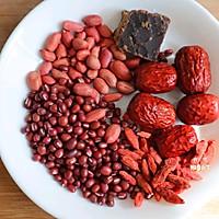 女性补气养血必喝的五红汤五红粥❗️月子汤❗️的做法图解1