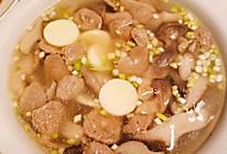减肥期间可以吃-营养易做菌菇牛肉丸日本豆腐汤的做法