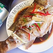 #太太乐鲜鸡汁玩转健康快手菜#清蒸鲈鱼
