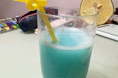蓝柑柠檬乳酸气泡水