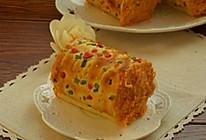 +肉松卷面包#东菱魔法云面包机#的做法