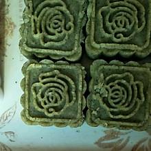 薄荷绿豆糕
