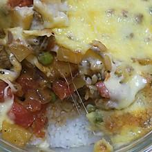 番茄牛肉焗饭