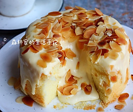 自制网红【爆浆奶盖蛋糕】超美味的冰淇淋口感的做法