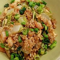 十分钟美味虾仁蔬菜蛋炒饭的做法图解3