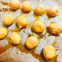 仿香港美心流心奶黄月饼#法国乐禧瑞,百年调味之巅#的做法图解2