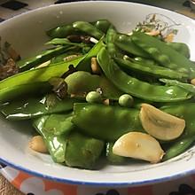 湖南腊肉炒荷兰豆