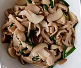 杂菇炒瘦肉的做法