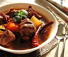 辣焖羊腿肉的做法