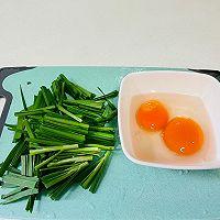 韭菜鸡蛋饼(韭菜炒蛋)二种做法的做法图解11