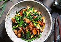超快手的家常小炒,蒜苗炒肉,超级下饭的做法