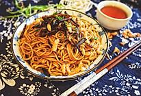 老上海开洋葱油拌面的做法