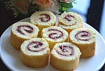 原味戚风蛋糕卷(草莓酱夹心的做法