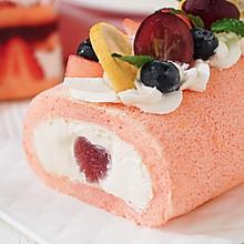 日食记 | 蜜桃蛋糕卷×雪崩蛋糕