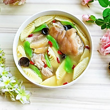 腌笃鲜#春天肉菜这样吃#