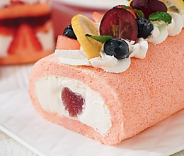 日食记 | 蜜桃蛋糕卷×雪崩蛋糕的做法