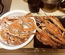 蒸花蟹/螃蟹的做法