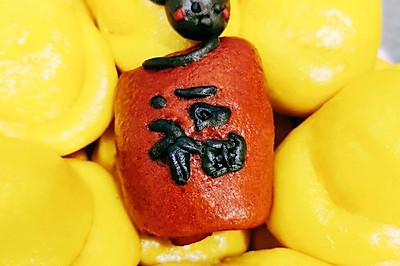 #人人能開小吃店#【蒸】南瓜饅頭之偷金元寶的小老鼠