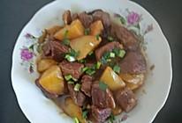 红烧牛肉土豆,的做法