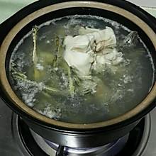 青蛙鸡肉汤