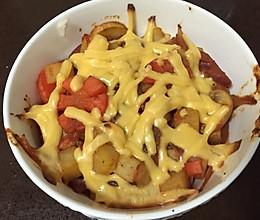 土豆牛肉焗饭的做法
