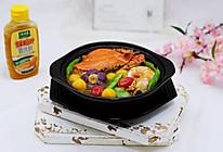荷兰豆海鲜烩芋圆#太太乐鲜鸡汁蒸鸡原汤#的做法