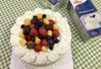 水果奶油生日蛋糕的做法