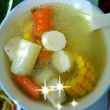 玉米山药胡萝卜汤