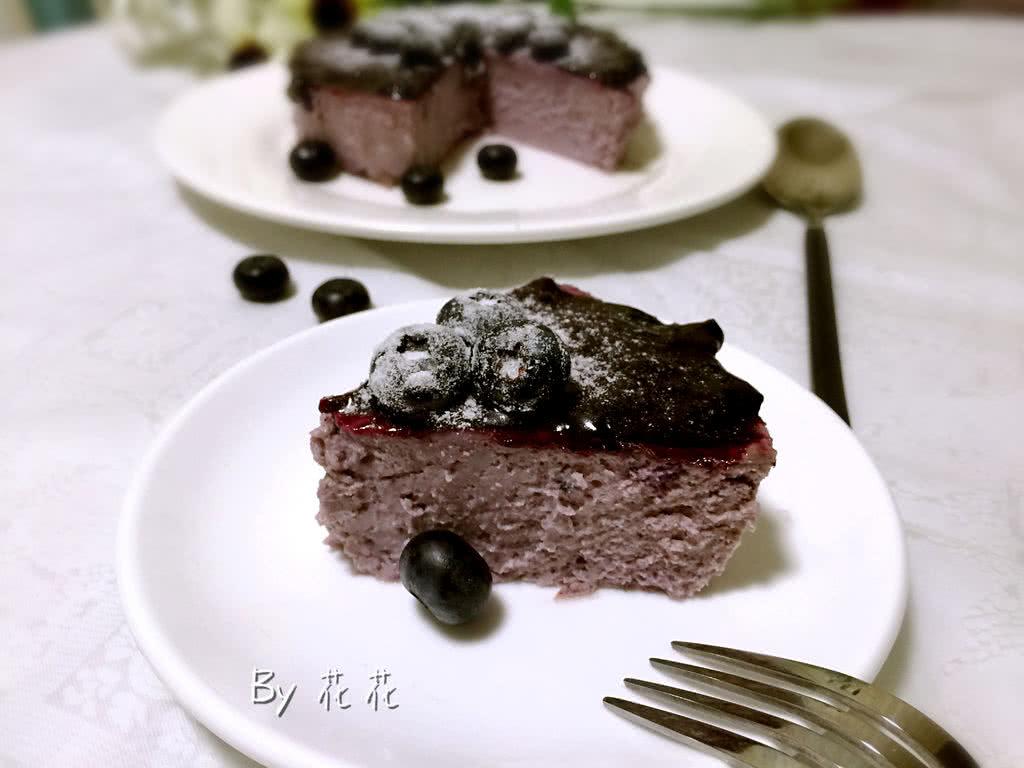 蓝莓芝士蛋糕 #洁柔食刻,纸为下厨房#