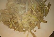 韭黄炒百叶(厚百叶)的做法