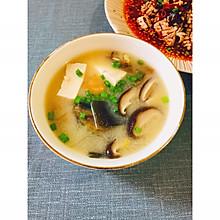 超简单暖心汤品—日式味增汤