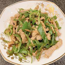 青椒肉丝,简单美味家常菜