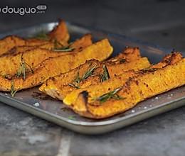 英式烤南瓜条的做法