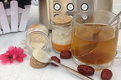 【小阳食尚学院】—红枣姜糖茶