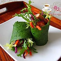 菠菜鸡肉卷