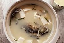 鲫鱼豆腐汤(下奶汤)#青春食堂#的做法
