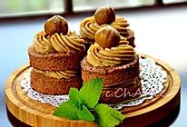 【糖霜栗子奶油蛋糕】#长帝烘焙节#的做法