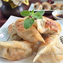 【私房香菇糯米煎饺】#船歌鱼水饺#